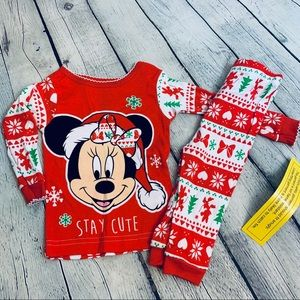 Disney | Minnie Mouse Christmas PJ Set